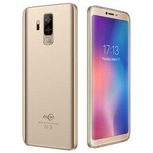 "5,99 ""teléfono inteligente 18:9 5500mAh batería teléfono Android 8,1 Quad Core 2GB RAM 16GB ROM 13.0MP 2MP cámaras Original AllCall S5500"