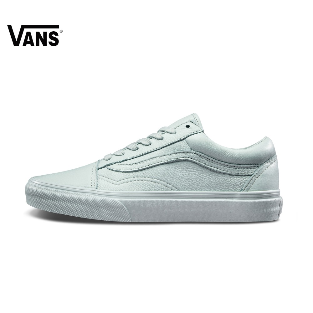 Original Vans Unisex Sneakers Men Women Skateboarding Shoes Light Color Classic Leather Sports Sneakers the world aluminum industry in a changing energy e ra