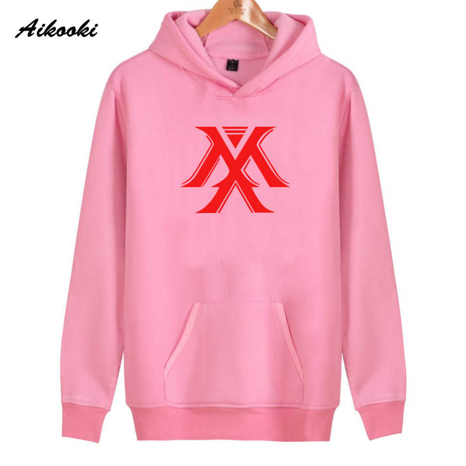 2018 Aikooki Fashion X Mens Hoodies Women/Men Cotton Casual High Quality Womens Hoodies and Sweatshirt X Mens Hoodies Clothes