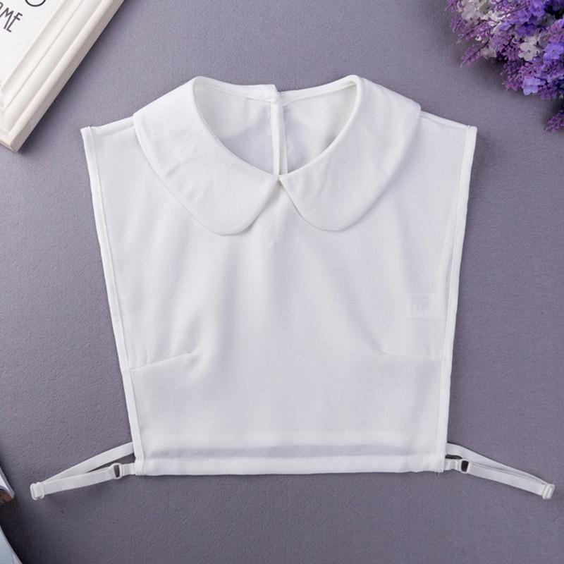 YSMILE Y White Women Shirt Suit Detachable Collar High Quality Remove Decorative Collar All Purpose Adjust Cloth Accessories