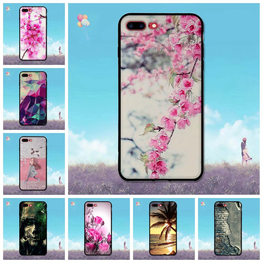 Case for iPhone 7 Plus Cute Painting Back Cover for iPhone7 Plus 5.5 inch Soft Shell for iPhone7plus Cases for iPhone 7plus
