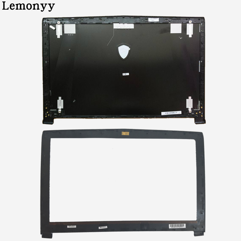 New case cover For MSI GE62 2QD-007XCN MS-16J1 16J1 16J2 16J3 Top Lcd Back Cover black Non-Touch/ LCD Bezel Cover new for msi ge62 ms 16j1 ms 16j2 ms 16j1c laptop palmrest cover assembly keyboard upper case black 15 6
