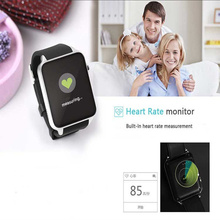 Waterproof Smart Watch GT88 Heart Rate with GSM/GPRS SIM Card Camera for ios android