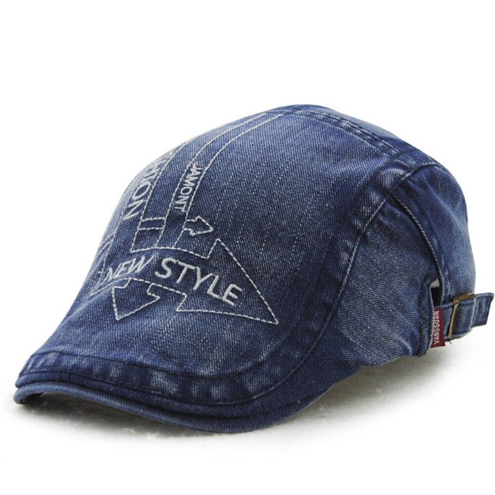 Casual Unisex Beret Hats ArrowDuckbill Casquette Boina Buckle Visors Golf Driving Flat Detective Hat Casquette Newsboy Cap 2018
