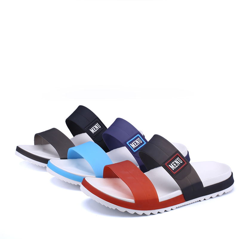 LAISUMK Summer Beach Men Slippers Casual Shoes Double Buckle Man Slip on Flip Flops Flats Camouflage Flip Flop Indoor & Outdoor 83