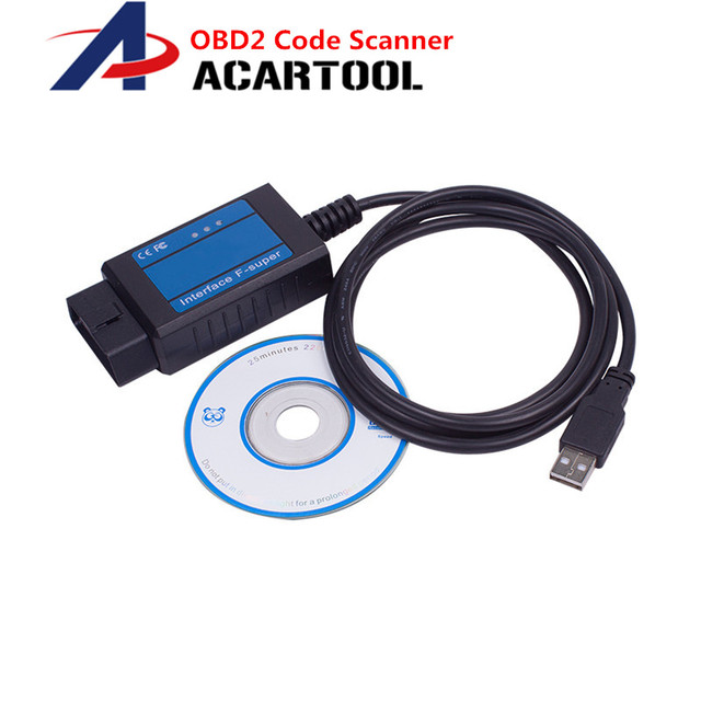 For Fiat Scanner OBD/ OBD2 Code Reader Diagnostic Usb Cable Interface USB Scan Tool For Fiat USB Code Scanner/Tester