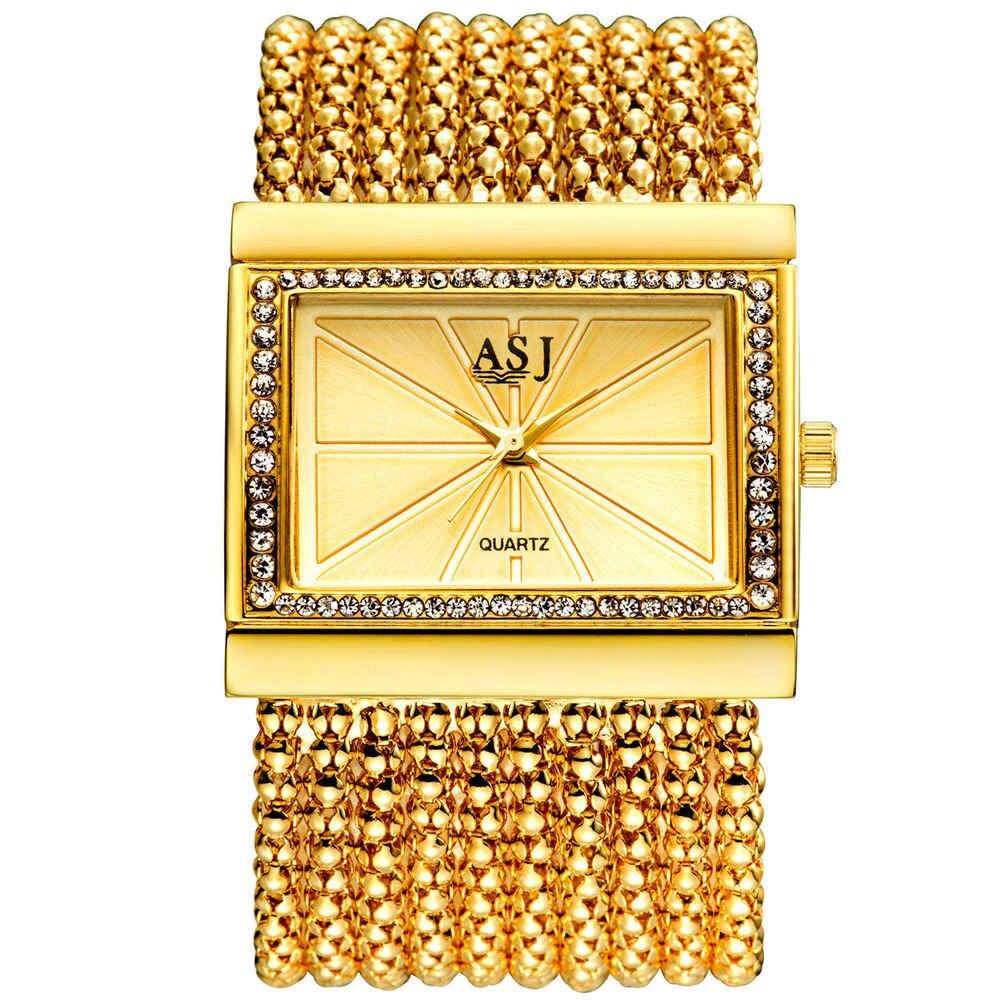 Brand Lady Bracelet Watches Women Luxury Fashion Casual Wristwatch Clock Dress Quartz Wrist Watch Gold Relogio Feminino hot sale soxy fashion elegant women watches analog lady s bracelet quartz watch luxury gold wrist watches hours relogio feminino