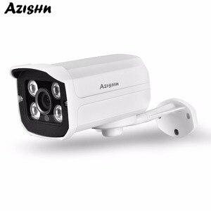 Image 1 - AZISHN HD SONY IMX307 Sensor 3.0MP 1080P 2.0MP Security IP Camera Outdoor Metal Onvif IR Night Vision Bullet Surveillance Camera