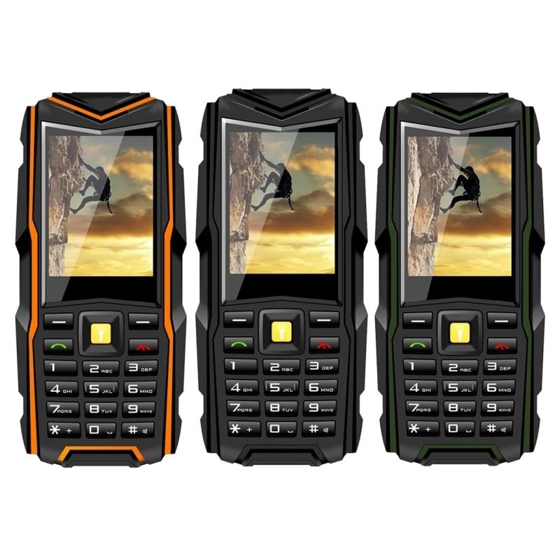 VKWorld Stone V3 5200mAh Long Standby Waterproof Mobile Phone 6531CA RAM 64MB ROM 64MB 2.4 inch Dual SIM Bluetooth