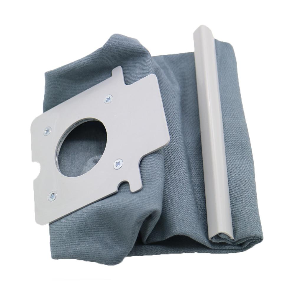 Высокое качество Пылесосы для автомобиля мешок hepa фильтр пыли Сумки очиститель сумки для Panasonic MC-CG381 MC-CG383 MC-CG461 Запчасти для пылесоса