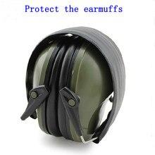 Professionelle schallgedämmte foldaway schutz ohrstöpsel für noise Taktische Outdoor Jagd Schießen hören ohr schutz