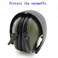 Professional soundproof foldaway protective ear plugs muffs for noise Tactical Outdoor Hunting Shooting hearing ear protection