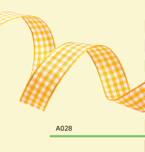 1 Inch 2.5cm tartan ribbon