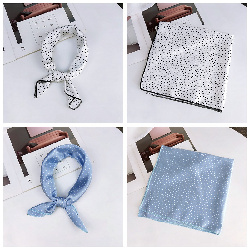 HTB1JRQnbffsK1RjSszbq6AqBXXa8 - fashion Square Scarf Hair Tie Band Party Women Elegant Small Vintage Skinny Retro Head Neck Silk Satin Scarf, square scarves