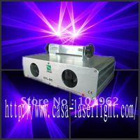 Двойной 200 МВт 405nm Фиолетовый Синий Вечерние лазерный свет dmx звук диско DJ Рождество Этап освещения