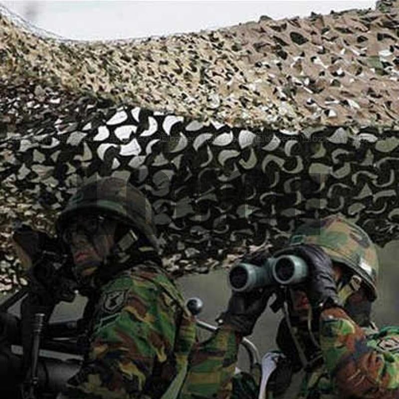 3.5M x 3.5M chasse tir aveugle Camouflage Net 150D Polyester chasse tir aveugle CS champ décoration Camouflage Net tentes