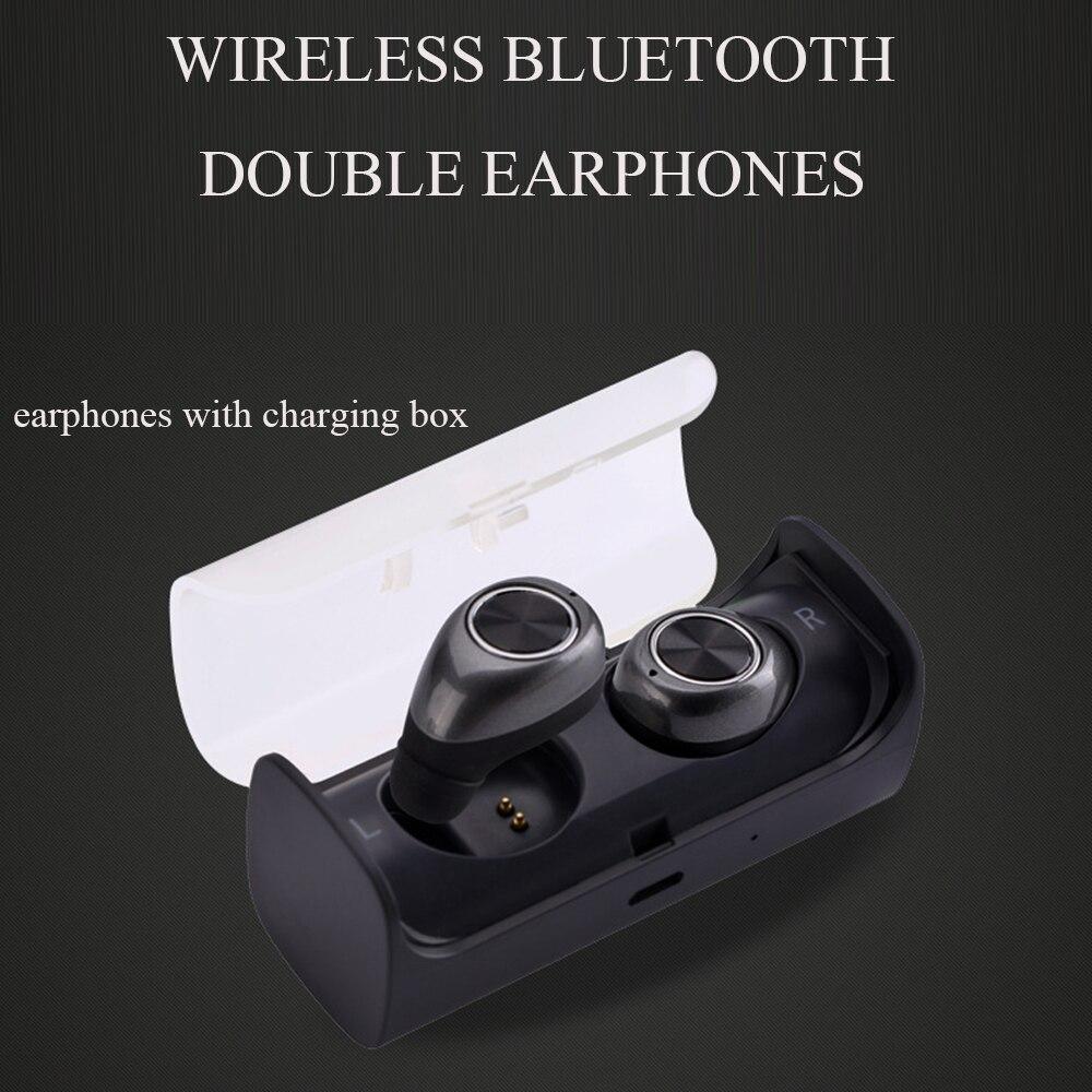 Ip010-x étanche sans fil Bluetooth écouteur pour téléphone portable professionnel casque stéréo basse avec micro chargeur Station boîte