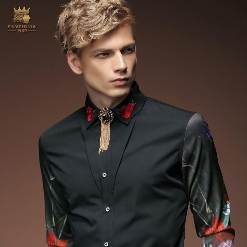 Gratis fragt Ny mode afslappet mænds personlighed mandlige koreanske - Herretøj - Foto 3