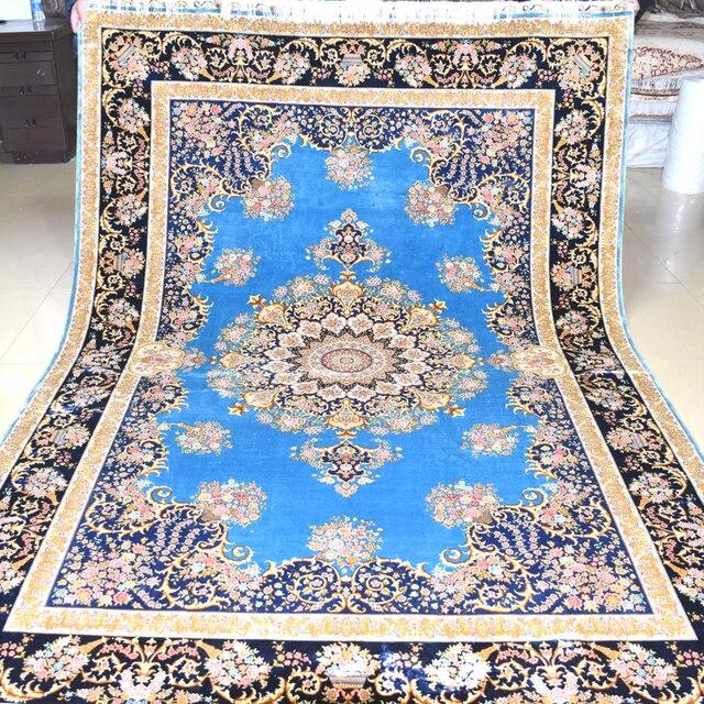 mingxin 6x9 pieds fleur moderne tapis tapis persan main tabriz nous la main tapis pour - Tapis Persan Moderne
