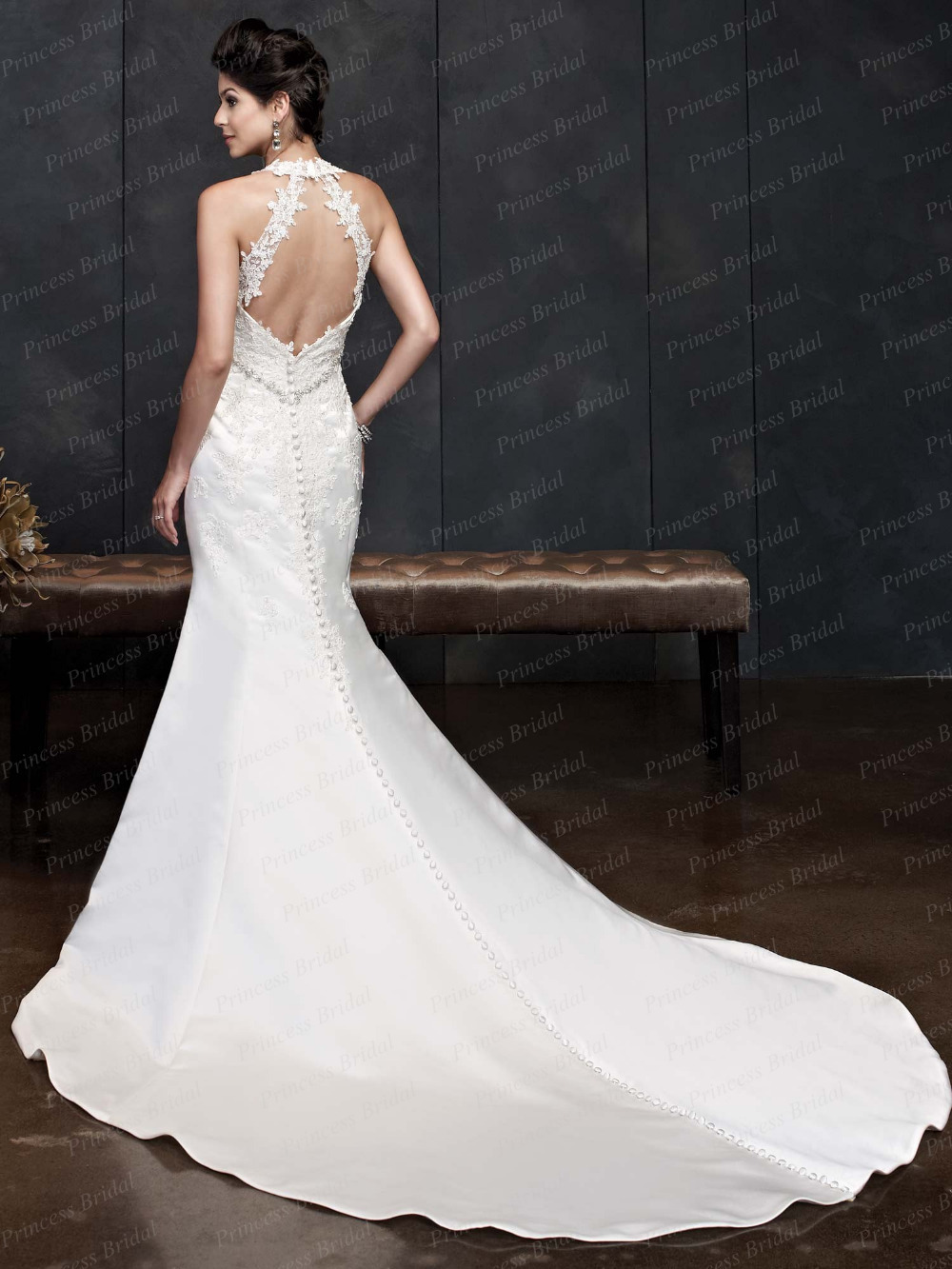 52 perfect low back wedding dresses low back wedding dresses Stella York Spring Wedding Dresses