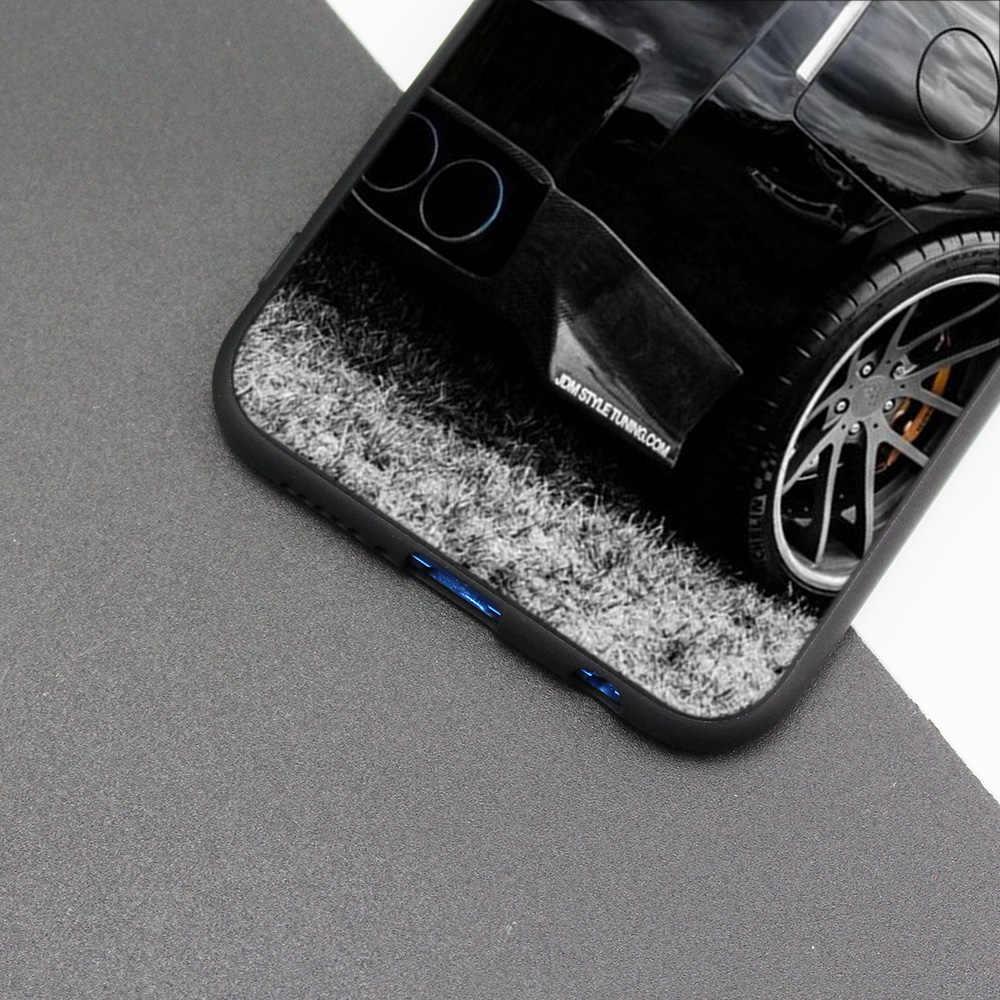 Cubierta de la caja de silicona para Huawei P20 P10 P9 P8 Lite Pro 2017 P inteligente + 2019 Nova 3i 3E teléfono los casos de coches de deriva Auto