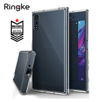 Ringke Fusion Case For Sony Xperia XZ Crystal Clear PC Back Cover And Soft TPU Frame