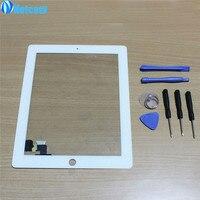 2016 NEW White Black Touch Screen Digitizer Panel Glass For Apple IPad 2 Screen Sensor 7