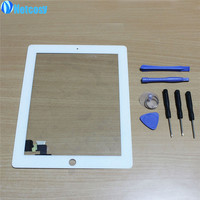 2016 NEW White Black Touch Screen Digitizer Panel Glass For Apple IPad 2 Screen Sensor 7