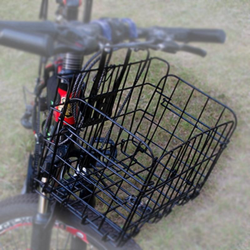 Spor ve Eğlence'ten Bisiklet Çantaları ve Sepetleri'de Yeni katlanır bisiklet ön sepet bold katlanır sepet