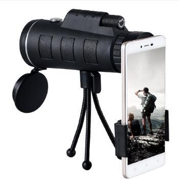 Teleskop 40X60 pojedynczy teleskop słabe oświetlenie widoczny teleskop telefonu komórkowego o wysokiej rozdzielczości tanie i dobre opinie