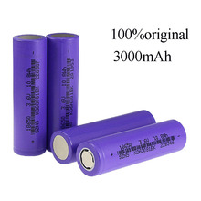 YILIZOMANA 18650 3000mah Battery Rechargeable Li-Ion 3.7V 3000 Rechargeable Electronic Cigarette Flashlight Battery