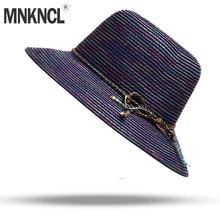 Mnkncl alta calidad Big BRIM Ladies verano paja Cap juventud sombreros para  las mujeres Sombras Sombreros 3f00cfe086b