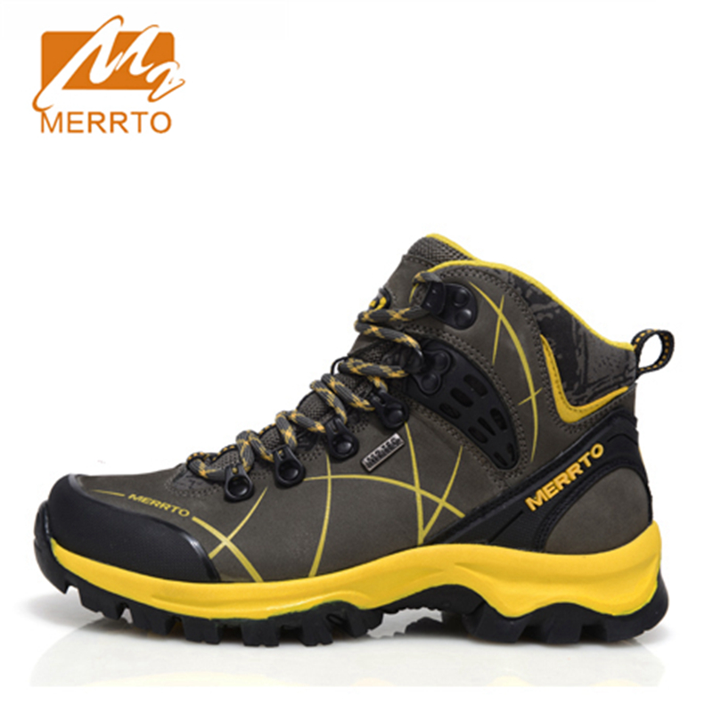 2017 Merrto Womens Hiking Shoes Breathable Waterproof Outdoor Sports Shoes Full-grain leather For Women Free Shipping MT18571 cmos штатная камера заднего вида avis avs312cpr для renault logan sandero 067