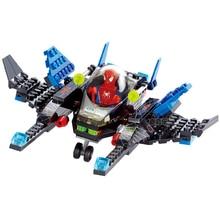 Marvel Super Heroes Avengers Infinity War Spiderman Fighter Building Blocks Sermoido Figures Toys For Children
