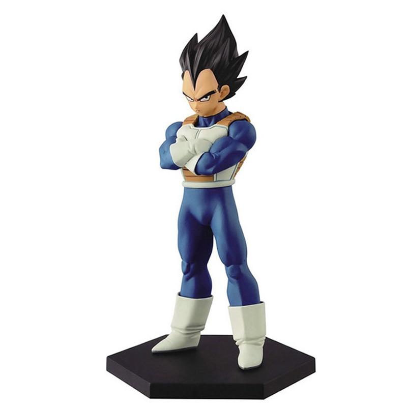 New Anime Dragon Ball Z 15cm Vegeta Action Figure Desktop Decoration PVC Saiyan Juguetes Anime Puppets Figure Toys For Children