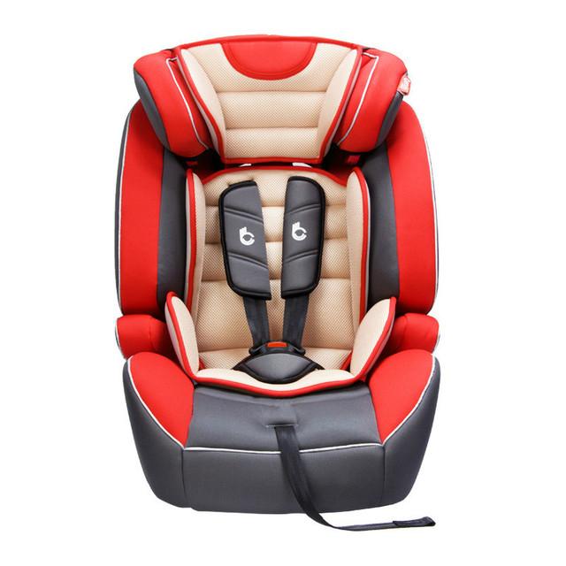 Instalar Criança Assento de Segurança para Crianças de segurança Para A Frente de Absorção de Choque 9 meses-12 Anos de Idade Engrossar Auto Assento Do Bebê Assento de Carro Do Bebê C01