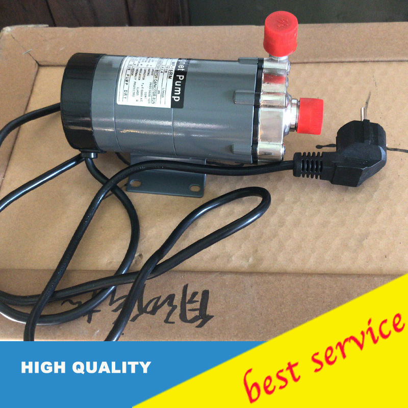 Stainless Steel Thread Interface MP-15RM 10W 50/60HZ 220V Magnetic Drive Pump With European Standard Plug