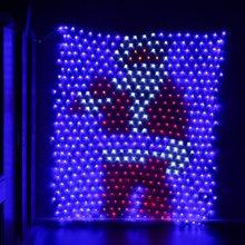 JUNJUE LED Net Fairy String Light Christmas Wedding Party Outdoor Garden Decoration Waterproof Santa Claus