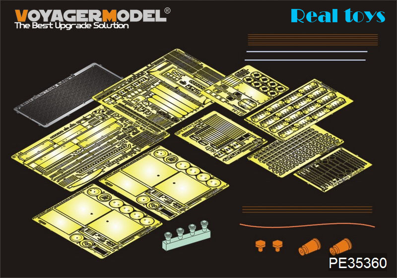 Voyager 1:35 WWII Russian T-34/85 (For AFV CLUB 35144) PE35360 1 32 fov80318 russian t 34 85 tank