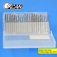 20xTungsten Carbide Cutter Rotary Burr Set CNC Engraving Bit 3mmX3mm
