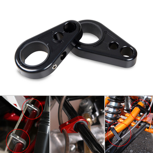 CNC Aluminum ATV A-Arm Brake Line Clamps For Polaris Sportsman 300 400 450 500 550 600 700 800 850 Ranger Magnum Big Boss Outlaw