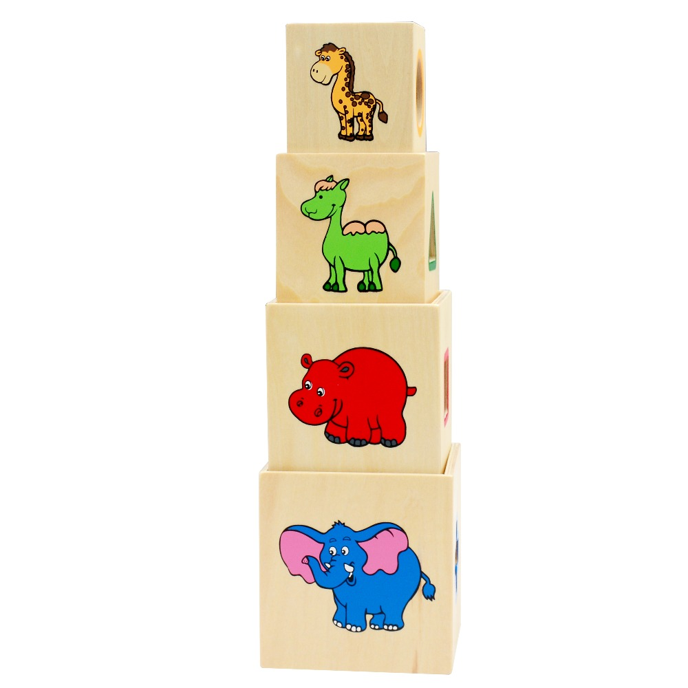 Wooden Shape Sorter Stacking Blocks Educational Wood Baby Toys Children  Multifunction Early Learning Wooden Cube Color Learn In Blocks From Toys U0026  Hobbies ... Photo Gallery