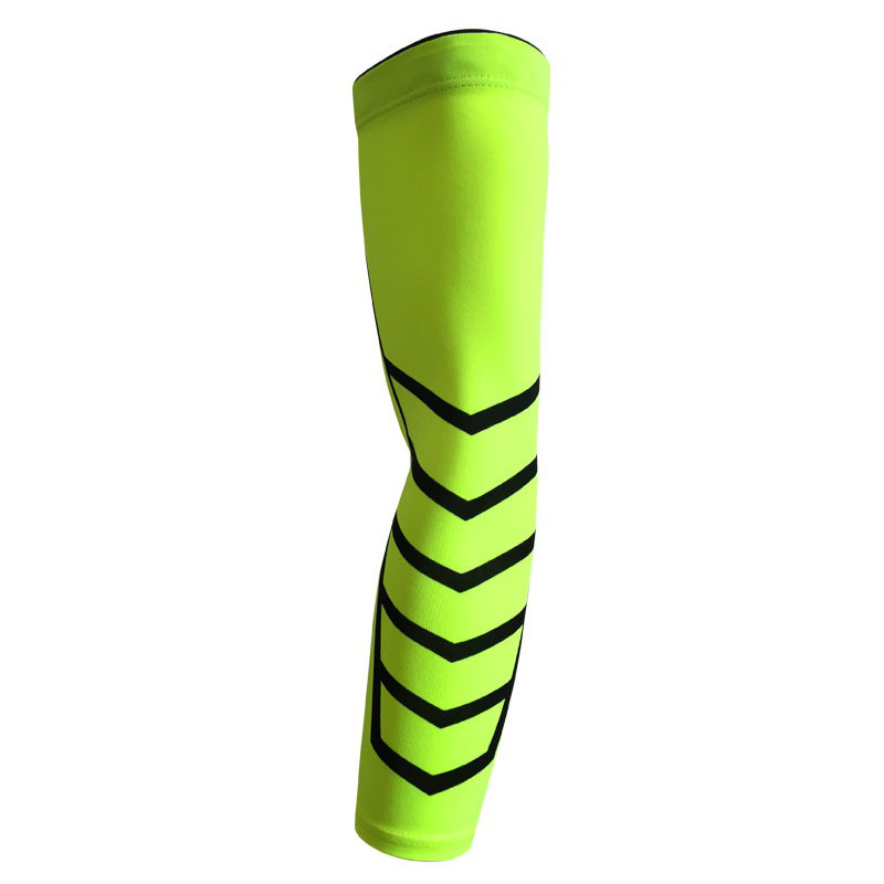 Romantic 1pc High Elastic Quick Dry Sport Elbow Arm Warmers Pad Long Arm Sleeve Support Basketball Arm Warmers Sports & Entertainment