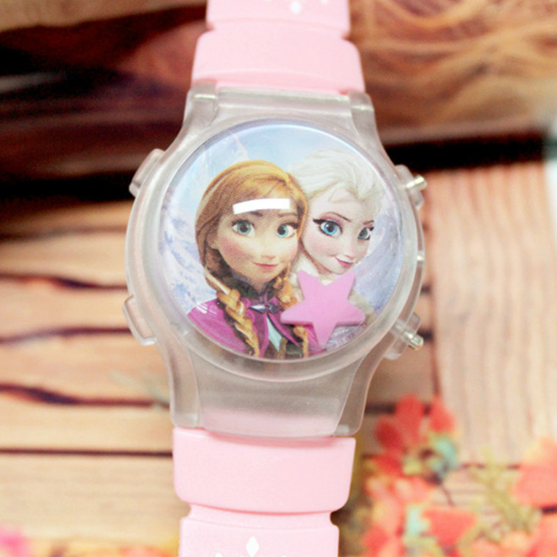 Selling  Children Watch  Cartoon Flashing Lights  Digital Watches  The Girl Boy  Toy Watch  Lovely Luminous Watch