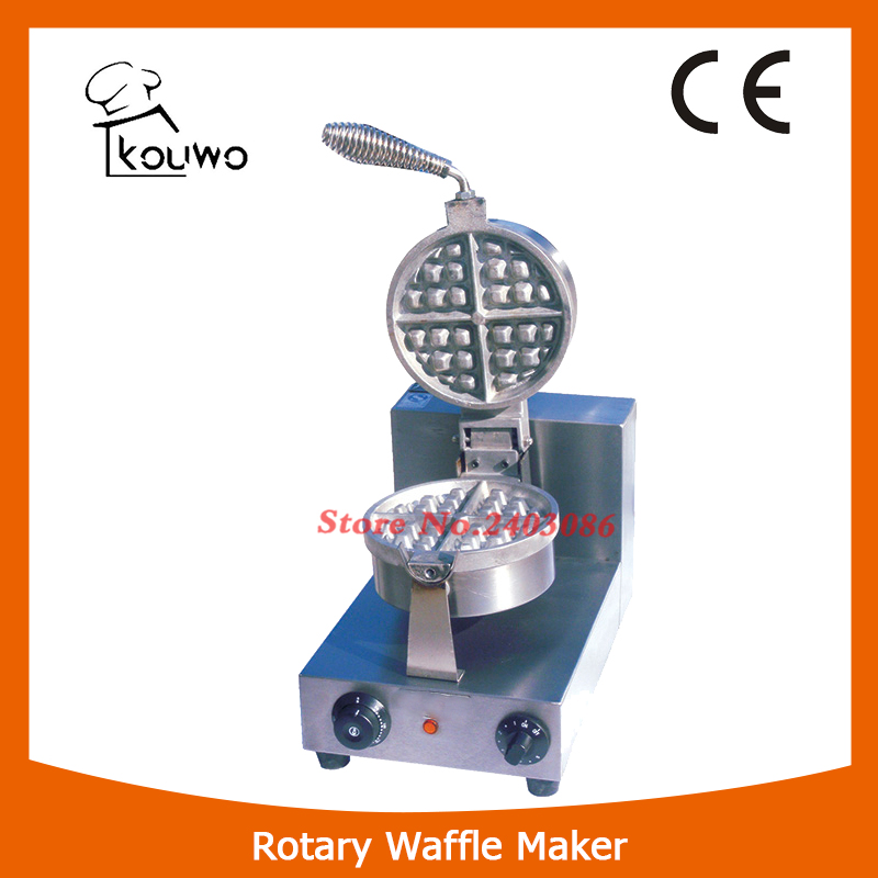 KW-1A Stainless Steel waffle machine Rotary Waffle maker for snack equipment панель декоративная awenta pet100 д вентилятора kw сатин