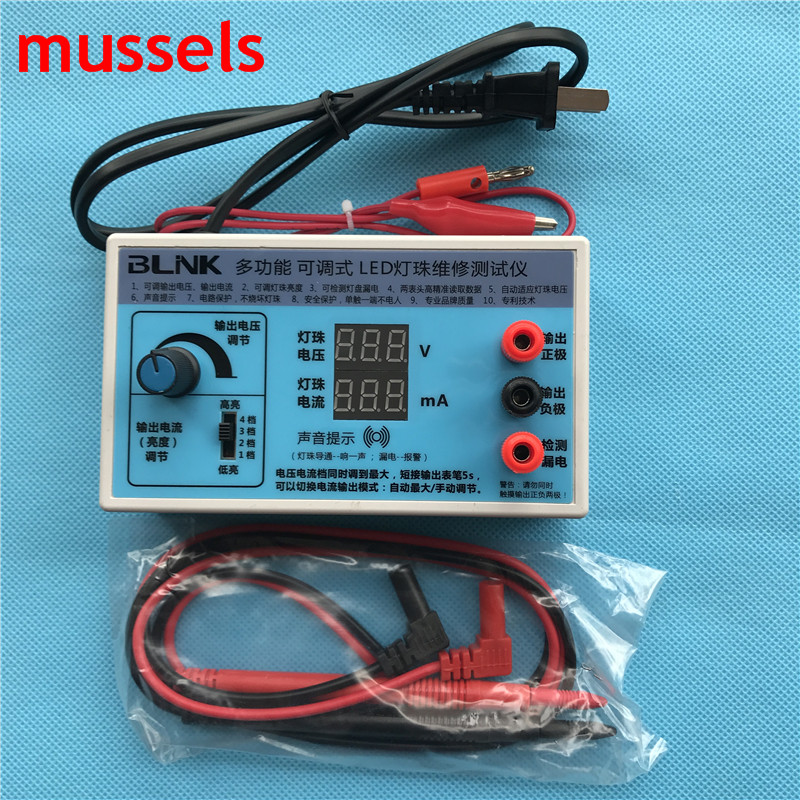Output LED Tester 0-180V Detection Tool TV Monitor Panel Backight Strips W/ Current And Voltage Digital Display Freedshipping