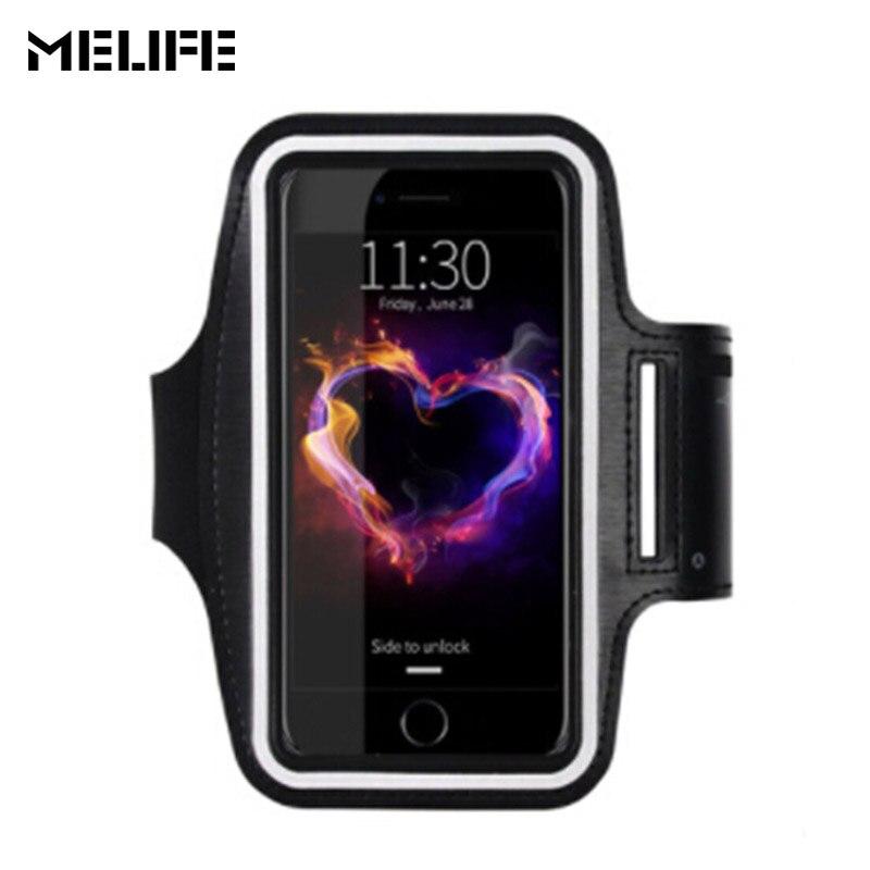 Melife спортивные Бег талии сумка Велоспорт бег Интимные аксессуары ARM Сумки для <font><b>iPhone</b></font> 7 6 6S плюс 5 SE для Samsung s3 4 5 S7 Примечание 3 4