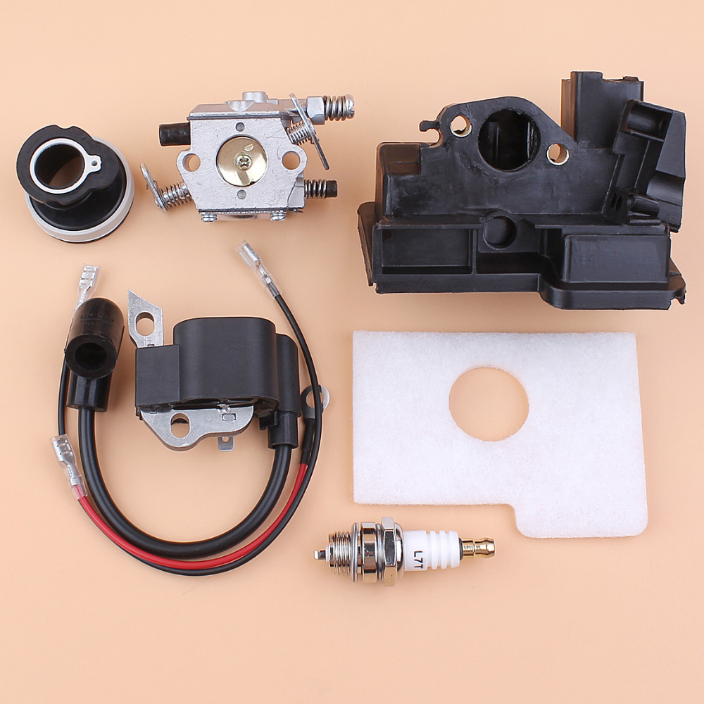 Carburetor Ignition Coil Intake Housing Cover Set for Stihl ms180 ms180 ms170 018 017 Gas Chainsaw Replacement Parts
