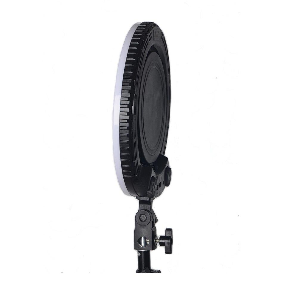Yidoblo QS 280 mini size 10 Camera Selfie make up Foto/Studio/Telefoon/Video LED Ring Licht Fotografie dimbare Ring Lamp - 2