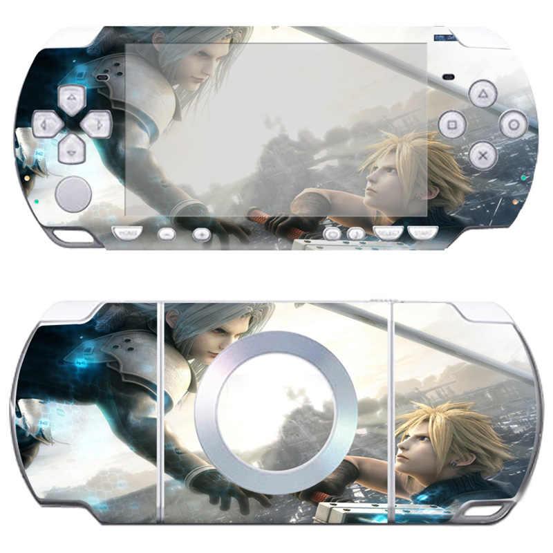 Livraison directe gratuite merveilleuse et populaire conception série wrap autocollant pour Sony PSP 2000 # TN-PP2000-1013